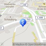 Karte Sandra Deckert Iserlohn, Deutschland
