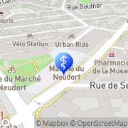 Carte de Pflieger Hugues Strasbourg, France