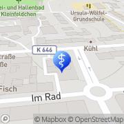 Karte Therapiezentrum Saeed Wiesbaden, Deutschland