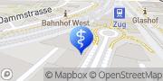 Karte arzthaus Zug Zug, Schweiz