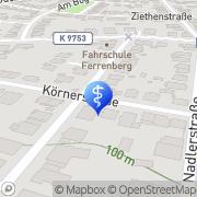 Karte Rothenburg, Charlotte Mannheim, Deutschland