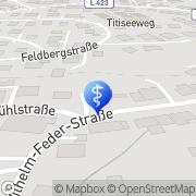 Karte psychologische-online-beratung.net Dauchingen, Deutschland