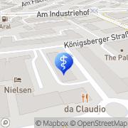 Karte CeBeeF Assistenz und Pflege GmbH Frankfurt am Main, Deutschland