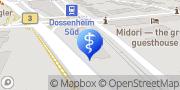 Karte Facharzt für Orthopädie - Dr. med. Andreas Venninger Dossenheim, Deutschland