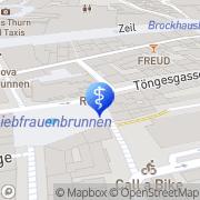 Karte Axel Diez Frankfurt am Main, Deutschland