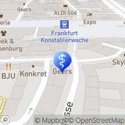 Karte Vitakustik Hörgeräte Frankfurt Flughafen, Deutschland