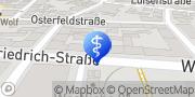 Karte Ambulanter Humanitärer Pflegedienst Pforzheim, Deutschland