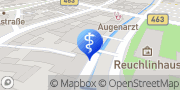 Karte Therapiezentrum Ortlepp&Pietsch Pforzheim, Deutschland