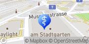 Karte Dr. Kurt Moser Winterthur, Schweiz