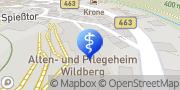Karte Alten- und Pflegeheim Wildberg Wildberg, Deutschland