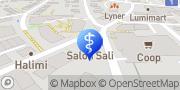 Karte Praxis für Zahnprothetik Winterthur, Schweiz