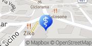 Map Dr. Fidel Ruggia - Dental Clinic Lugano Lugano, Switzerland