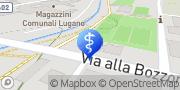Map Servizio Medico Dentario Pregassona, Switzerland
