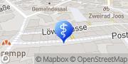 Karte Zahnarztpraxis Lina Karnesi Radolfzell am Bodensee, Deutschland