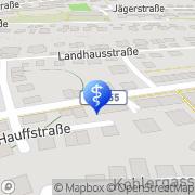 Karte Clive Reuben Praxis für Psychotherapie Böblingen, Deutschland