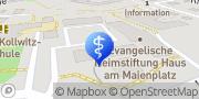 Karte Therapiezentrum am Maienplatz - Physiotherapie, Ergotherapie, Logopädie Böblingen, Deutschland