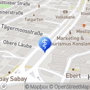 Karte Dr. Hager Zahnarzt Konstanz Konstanz, Deutschland