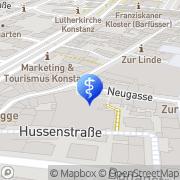 Karte Creutzburg, StephanZahnarzt Konstanz, Deutschland