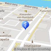 Karte Vincentius-Krankenhaus Konstanz, Deutschland