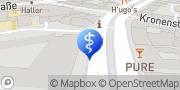 Map Pedirella Fusspflege Stuttgart, Germany
