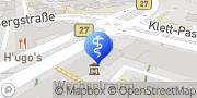 Karte terzo-Zentrum Stuttgart, Deutschland