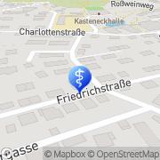 Karte Dr. med. Wolfgang Cotic Arzt für innere Medizin Freiberg, Deutschland