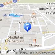 Karte Bhabani Rana Freiberg am Neckar, Deutschland