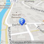 Karte Diakoniestation Remseck a. N. e.V. Remseck am Neckar, Deutschland
