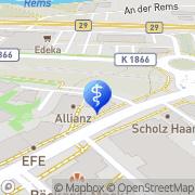 Karte Lindacher Akustik Weinstadt, Deutschland