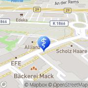 Karte Dr. med. H.-P. Bürkle Arzt für Allgemeinmedizin Weinstadt-Endersbach, Deutschland