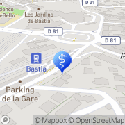 Carte de Arrighi Jean Marc Bastia, France