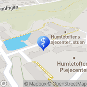 Kort Fodplejehuset Haderslev, Danmark