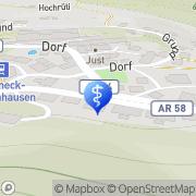 Karte Luzius Knöpfli Walzenhausen, Schweiz