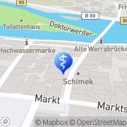 Karte Amplifon Hörgeräte Hann. Münden, Deutschland