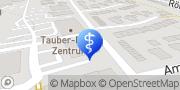 Karte Dres. R. Ordung und S. Nickel-Ordung Tauberbischofsheim, Deutschland