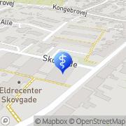 Kort Ældrecenter Skovgade Dagcenter Middelfart, Danmark