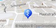 Karte Psychotherapeutische Privatpraxis Lisa Kocher Schwäbisch Hall, Deutschland