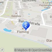 Karte Flemming Dental GmbH Rosdorf, Deutschland