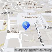 Karte schue Würzburg, Deutschland