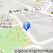 Karte Curt Kösters Hamburg, Deutschland