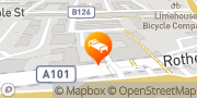 Map Holiday Inn Express London - Limehouse London, United Kingdom