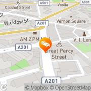 Karte Clink78 London, Vereinigtes Königreich