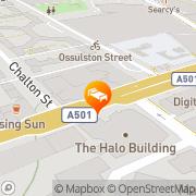 Map Novotel London St Pancras London, United Kingdom