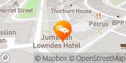 Map Jumeirah Lowndes Hotel London, United Kingdom