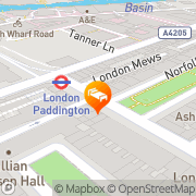 Map Royal Norfolk Hotel London, United Kingdom