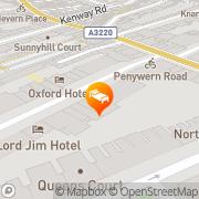Map Best Western Boltons Hotel London, United Kingdom