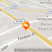 Map Think Earls Court / Kensington London, United Kingdom