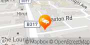Map Holiday Inn Express London - Earl's Court London, United Kingdom