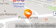 Map Hilton London Olympia London, United Kingdom