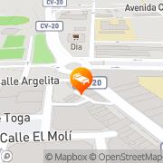 Map Gran Hotel Toledo Onda, Spain